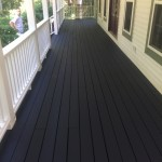 two toned deck